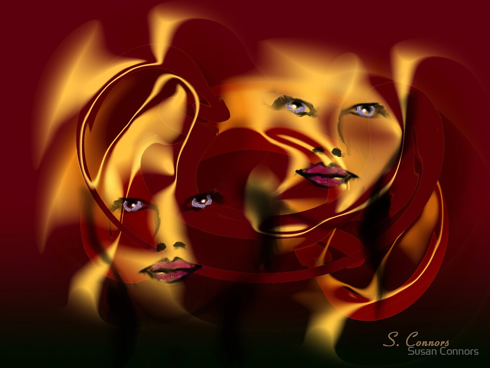 Satin Reflections by Susan Connors