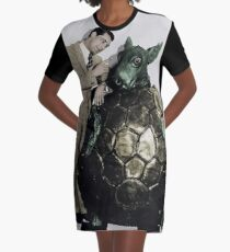 Cary Grant in Alice In Wonderland Graphic T-Shirt Dress
