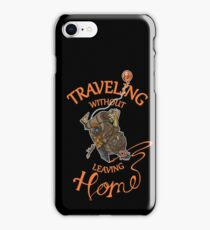 Traveling Without Leaving Home iPhone Case/Skin