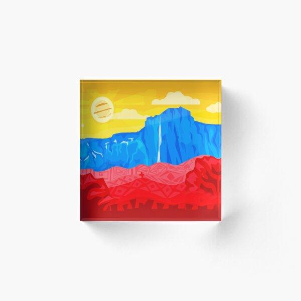 VENEZUELAN LOVE 2 Acrylic Block