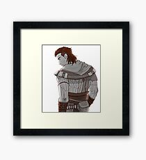Time to slay (some hearts) Framed Print