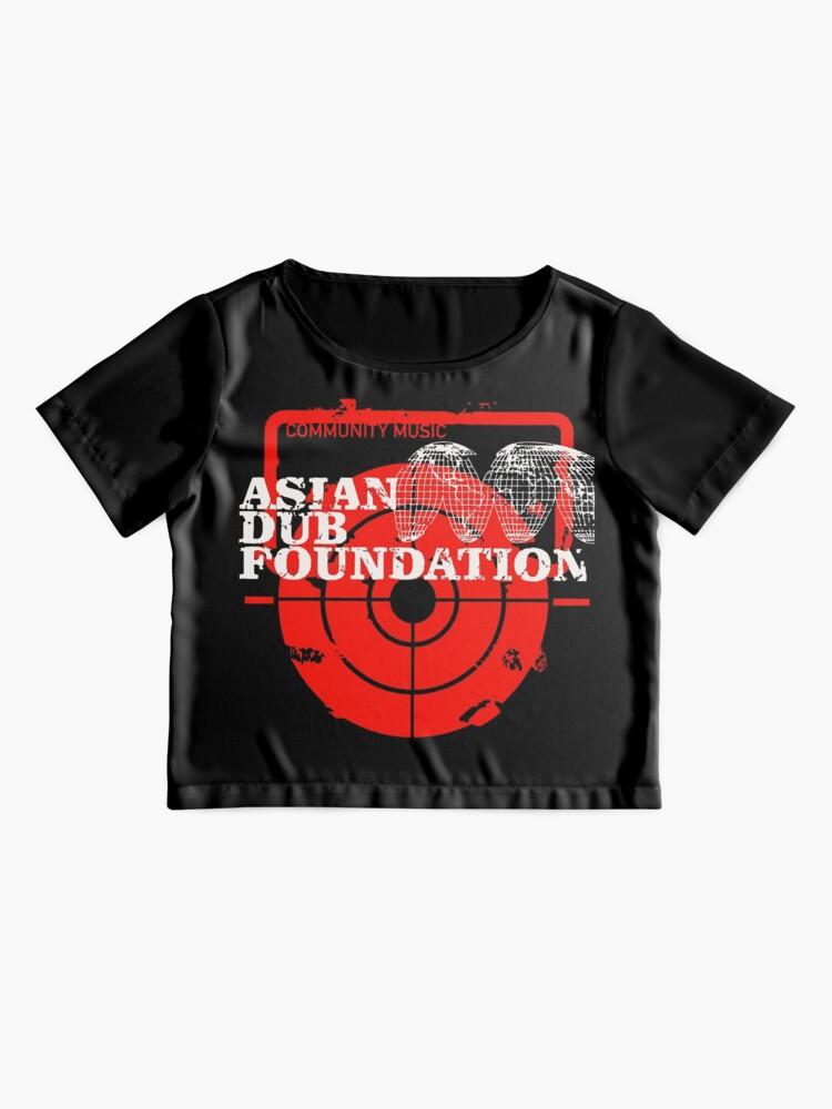 Alternative Ansicht von Gemeinschaftsmusik Asian Dub Foundation Chiffon Top