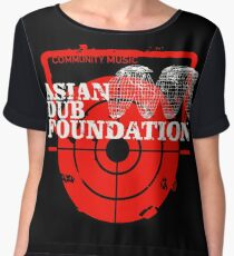 Community Music Asian Dub Foundation Women's Chiffon Top