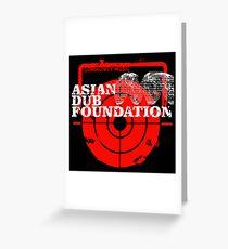Community Music Asian Dub Foundation Greeting Card