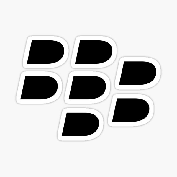 Blackberry Fans must have items Sticker