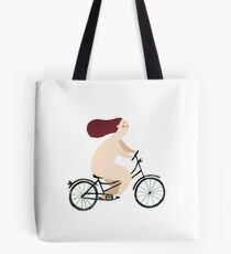 Happy Biker Tote Bag