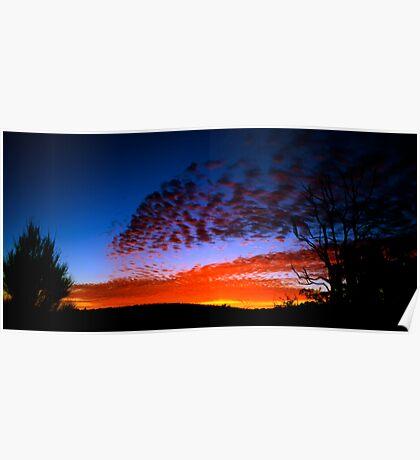 Sunrise near Mt Cook II Poster