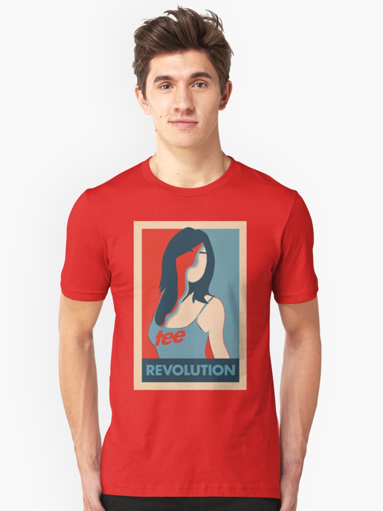 Tee Revolution Unisex T-Shirt Front