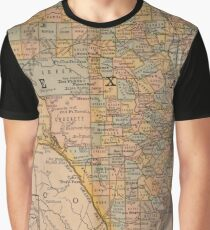 American map Graphic T-Shirt