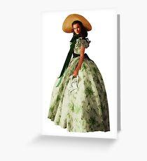 Scarlett O'Hara Greeting Card