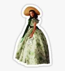 Scarlett O'Hara Sticker