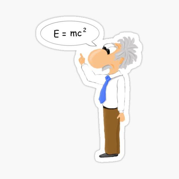 Einstein Pegatina