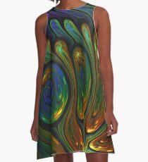 Binary System A-Line Dress