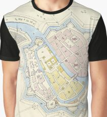 Historical map Graphic T-Shirt