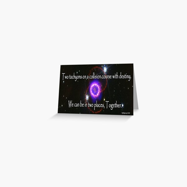Quantum Lovers Greeting Card
