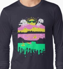 Happy Lake Long Sleeve T-Shirt