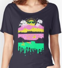 Happy Lake Women's Relaxed Fit T-Shirt