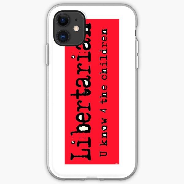 Libertarian 6 iPhone Soft Case