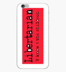 Libertarian 6 iPhone Case