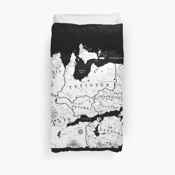 Thedas Map Duvet Cover
