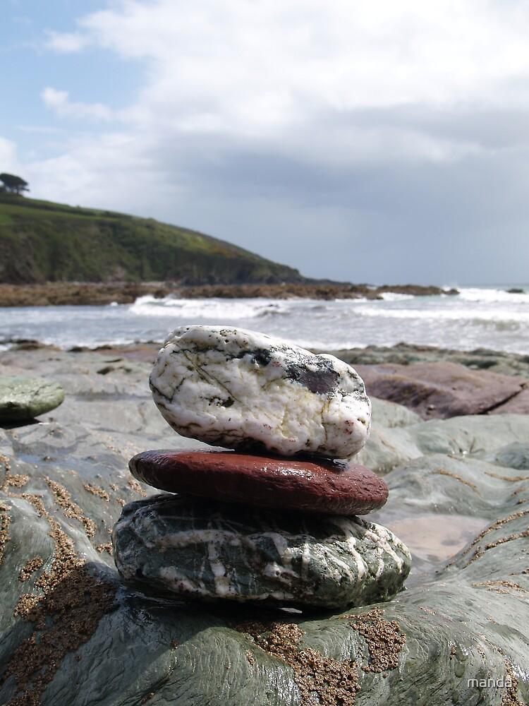 sea stack by manda