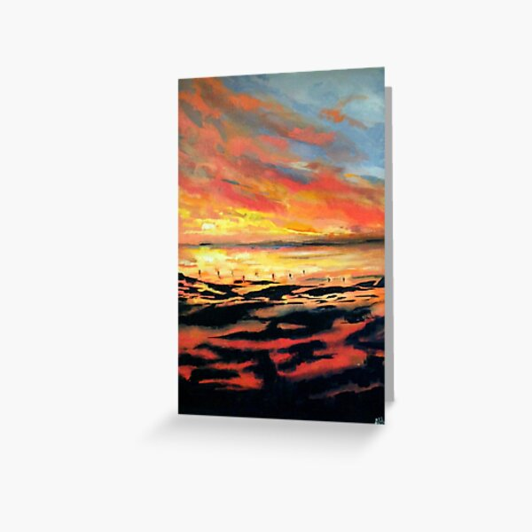 By The Water Greeting Card