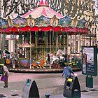 Paul Cézanne Carousel by Yukondick