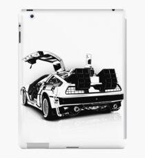 Delorean Vector iPad Case/Skin