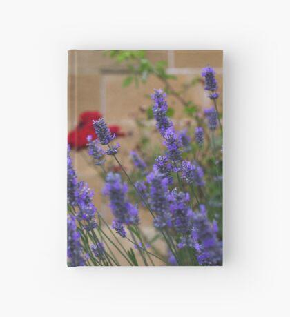 lavender gardens Hardcover Journal