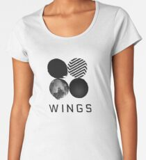 BTS - Wings Women's Premium T-Shirt