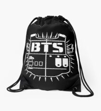 BTS - logo Drawstring Bag