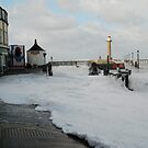 Foaming Sea at Whitby by dougie1