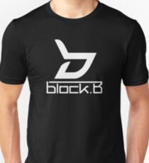 Block b - White - Logo Unisex T-Shirt