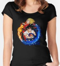 Dragon Fighter Z Women's Fitted Scoop T-Shirt