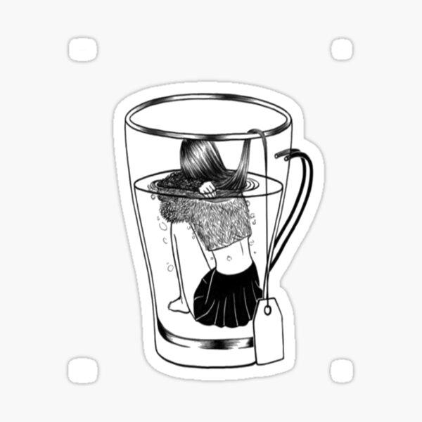 Tumblr Girl Sticker