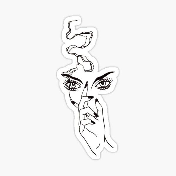 Smoke Eyez Sticker