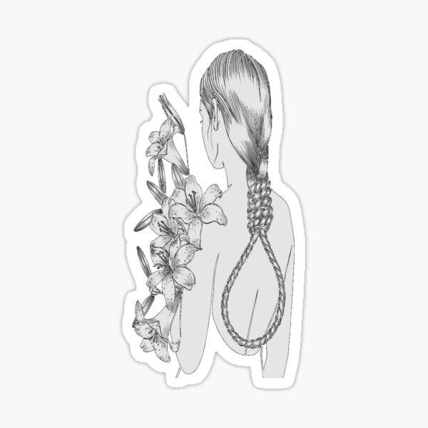 Flower Grl Sticker