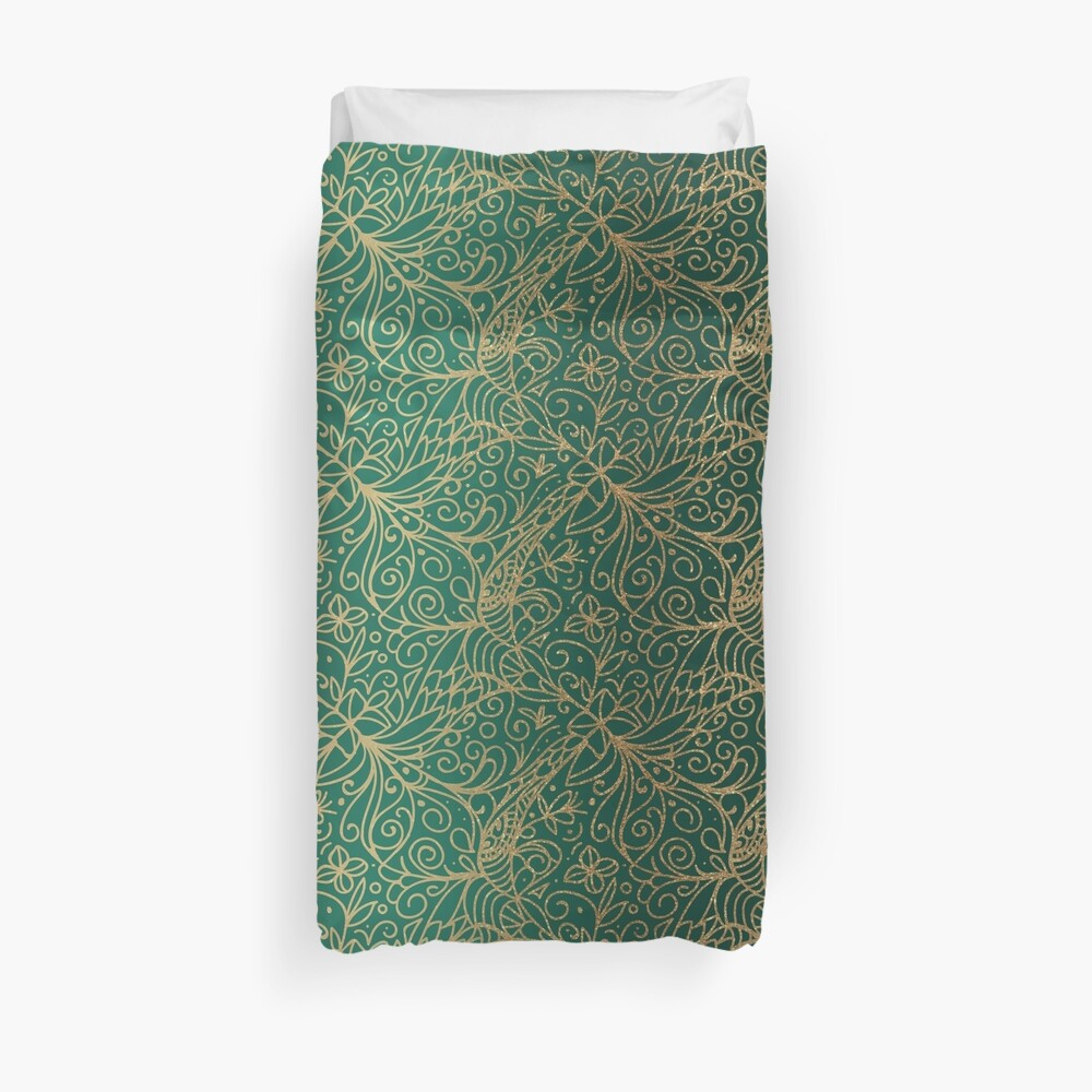 All that is Gold Duvet Cover