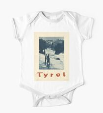 Vintage poster - Tyrol One Piece - Short Sleeve