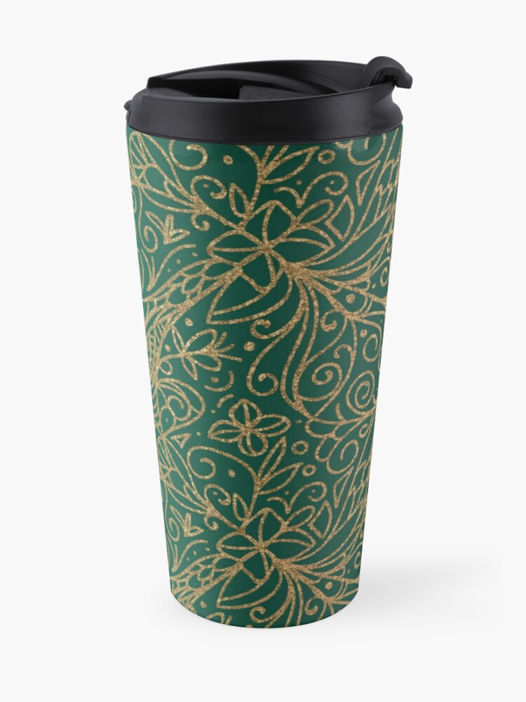 Alternate view of All that is Gold Travel Mug