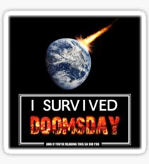 Doomsday  Sticker