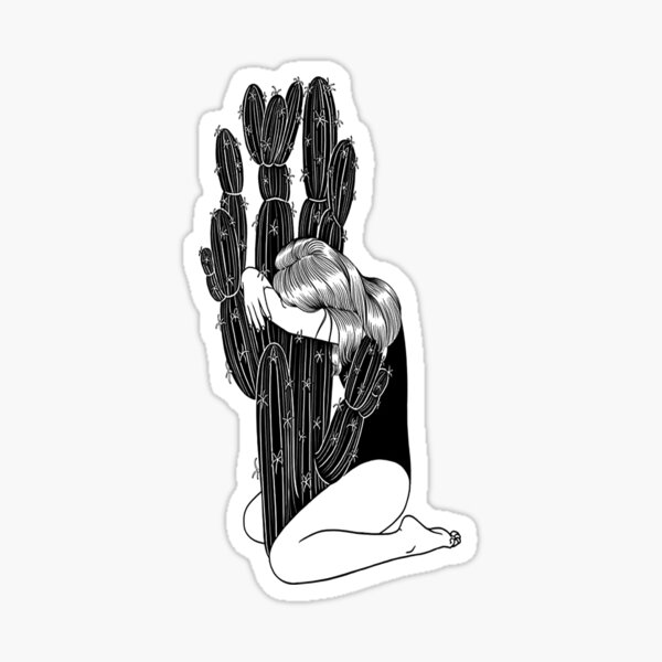 Cactus Grl Sticker