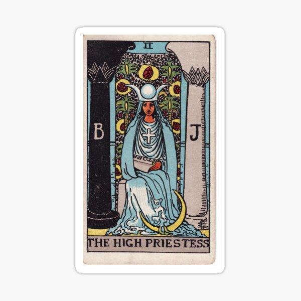 The High Priestess Sticker