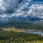 Lake Dillon, Breckenridge and Keystone, Colorado, USA by Edith Reynolds