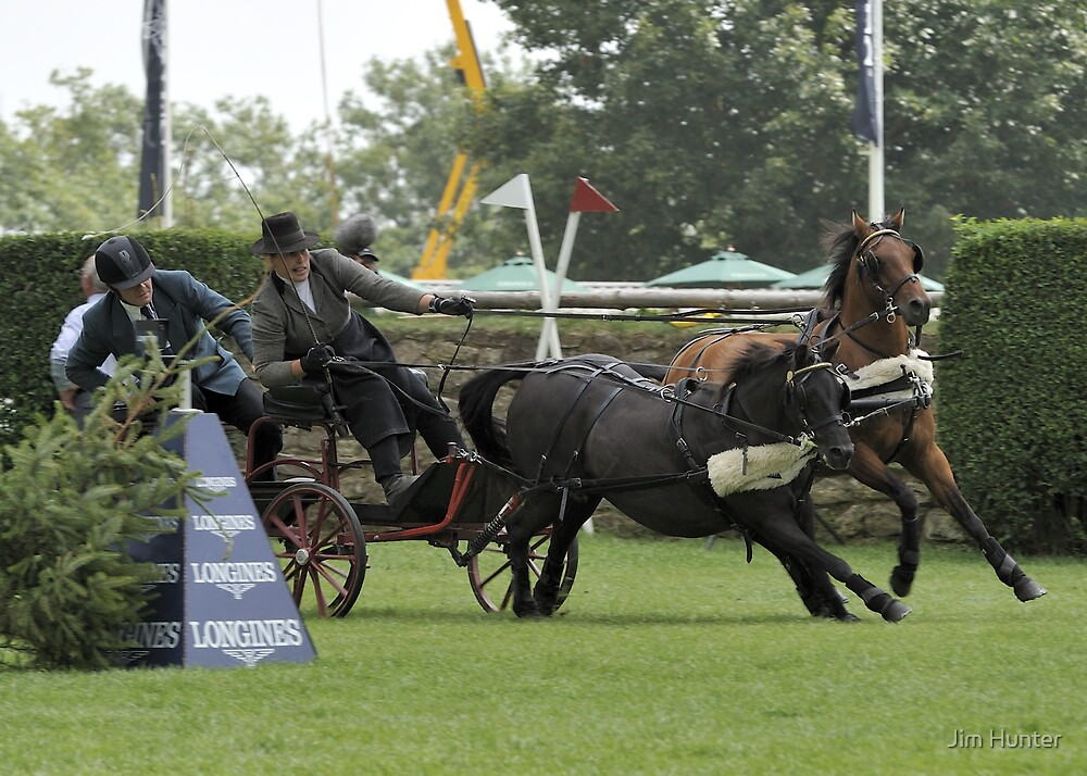 Trying too hard-Hickstead by Jim Hunter