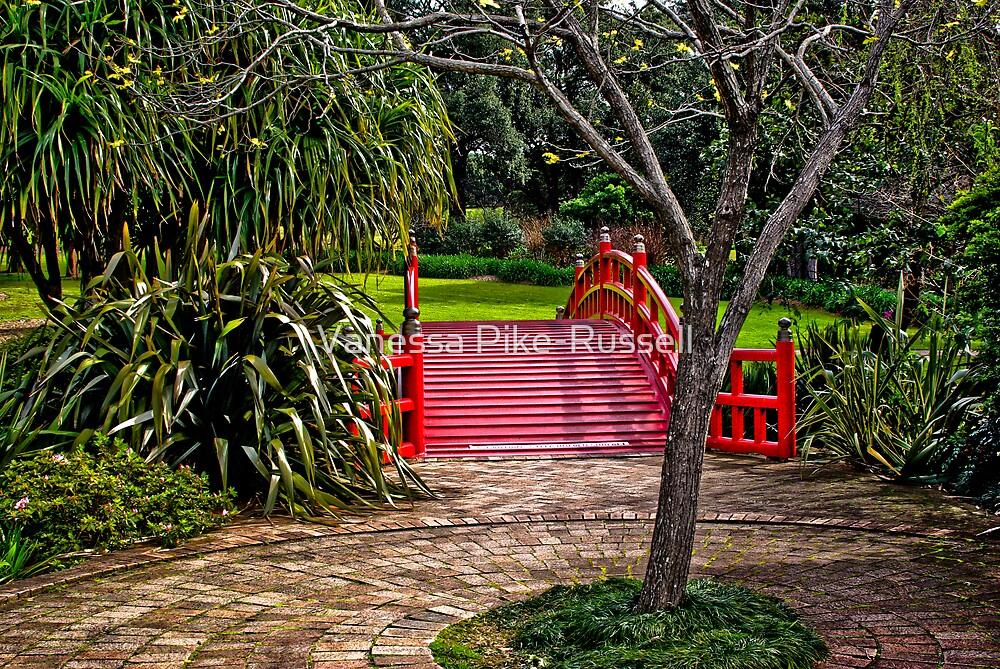 Kawasaki bridge at Wollongong Botanic Gardens by Vanessa Pike-Russell