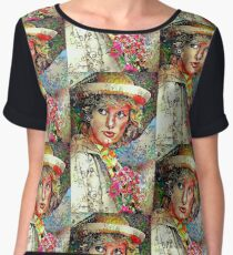 Tribute to Princess Diana, original art by E. Giupponi Women's Chiffon Top