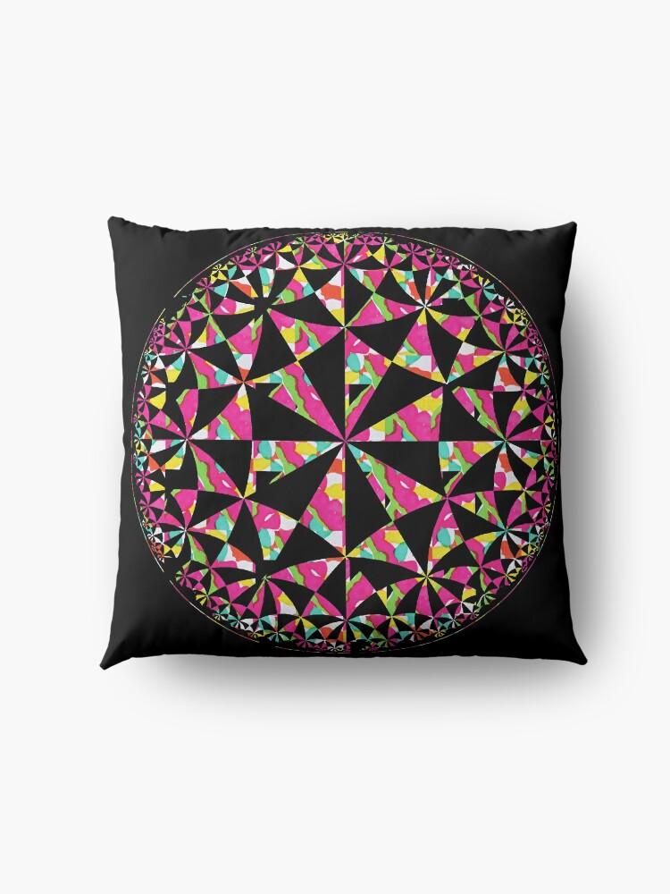Alternate view of Colour Wheel2 Floor Pillow