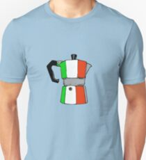 italian coffeepot Unisex T-Shirt