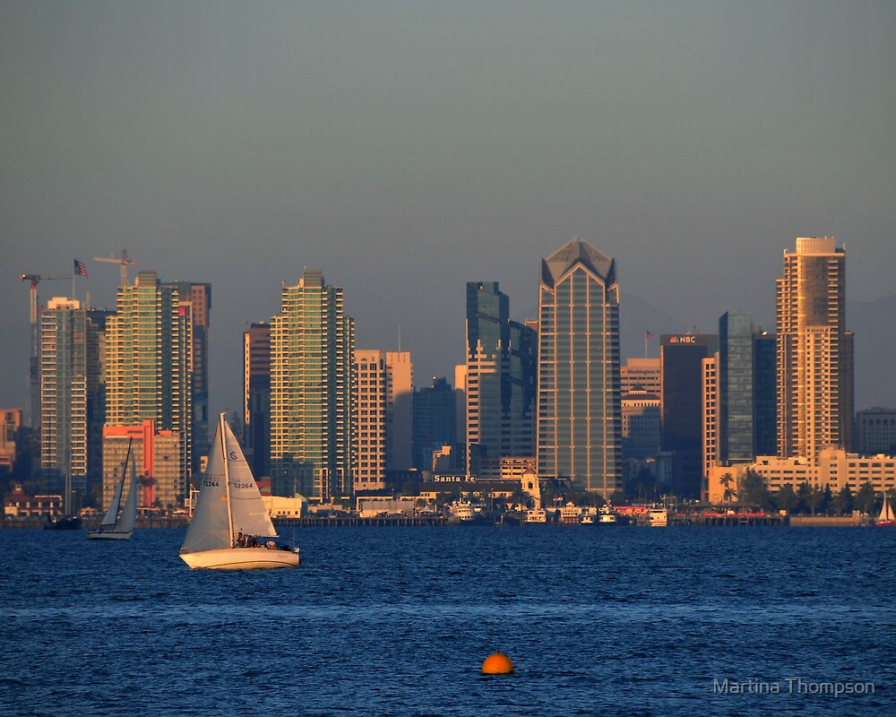 San Diego by Martina Thompson